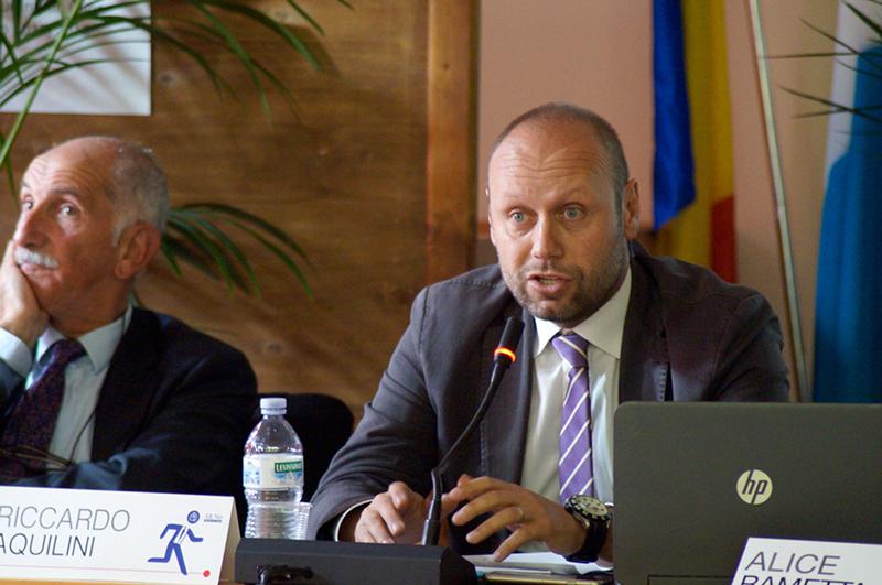 Amministratore delegato Riccardo Aquilini